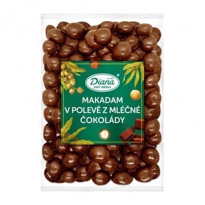 Makadam v polevě z mléčné čokolády 500g
