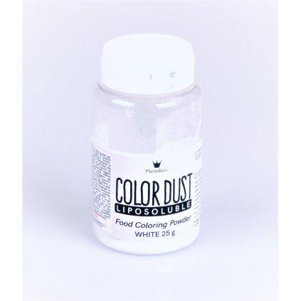 Martellato Barva v prášku rozpustná v tucích Bílá 25g