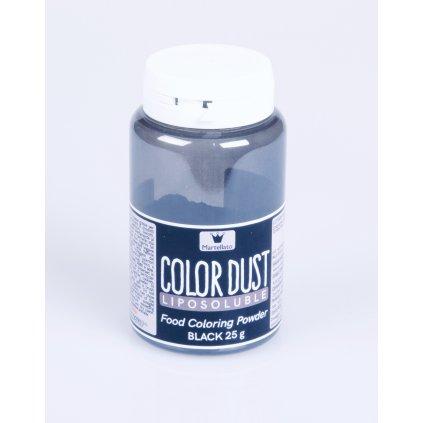 Almeco barva v prasku rozpustna v tucich cerna