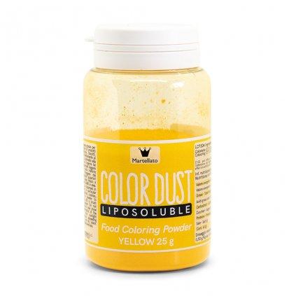 Martellato Barva v prášku rozpustná v tucích Žlutá 25g