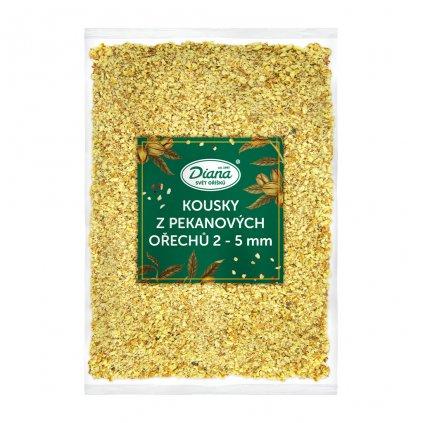 Kousky z pekanovych orechu 2 5 mm 1 kg diana company
