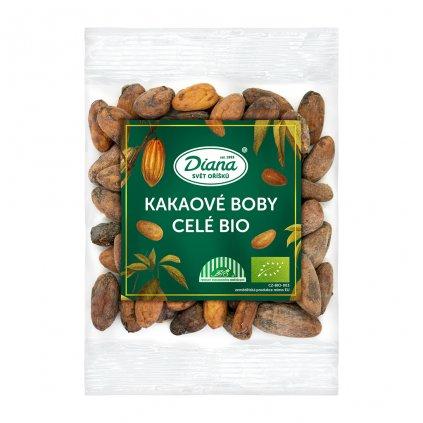 Kakaové boby celé bio 100 g diana company