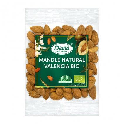 Mandle natural Valencia BIO 100g