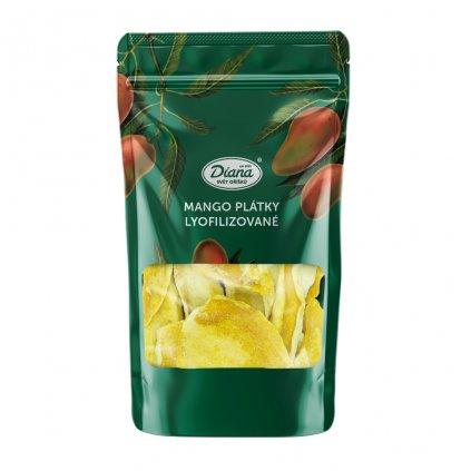 Mango plátky lyofilizované 40g diana company