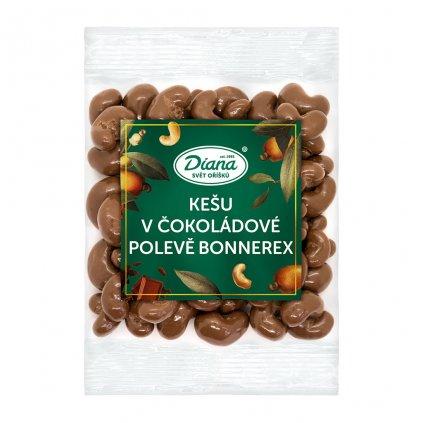 Kešu v čokoládové polevě bonnerex 100g