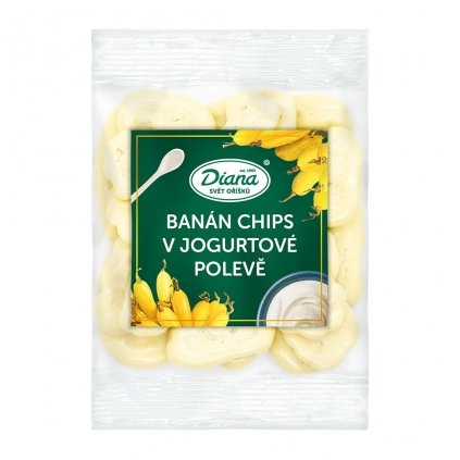 Banán chips v jogurtové polevě 100g