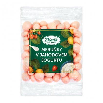 Meruňky v jahodovém jogurtu 100g diana company