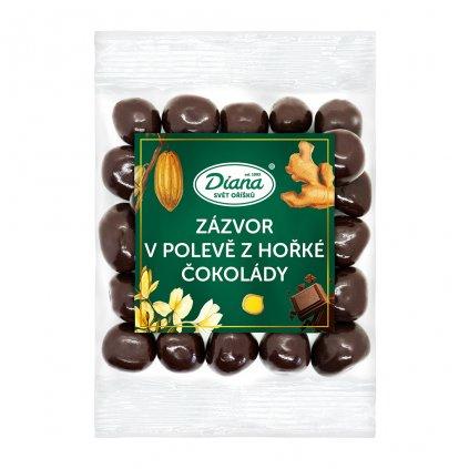 Zázvor v polevě z hořké čokolády 100 g diana company