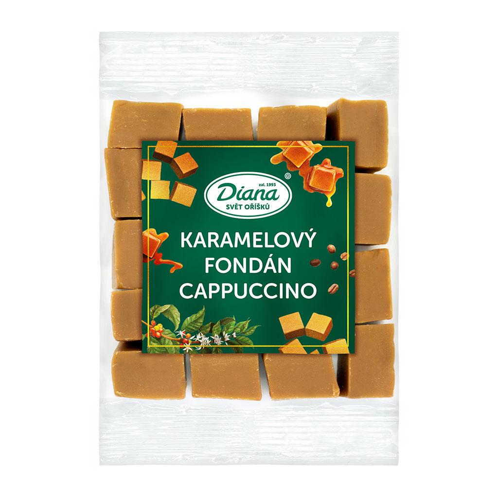 Diana Company Karamelový fondán cappuccino 100g