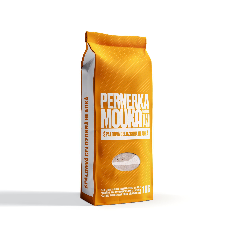Mlýn Perner Pernerka Mouka špaldová celozrnná hladká 1kg