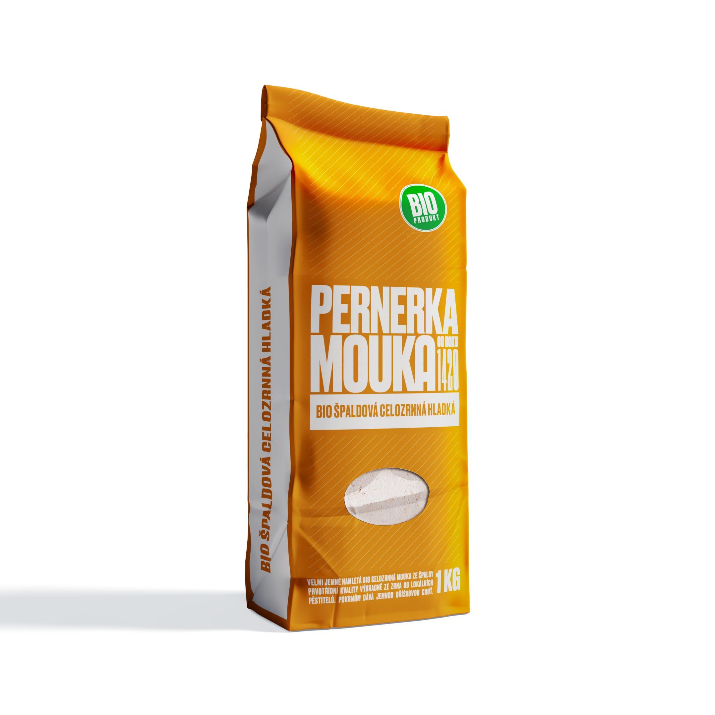 Mlýn Perner Pernerka BIO Mouka špaldová celozrnná hladká 1kg