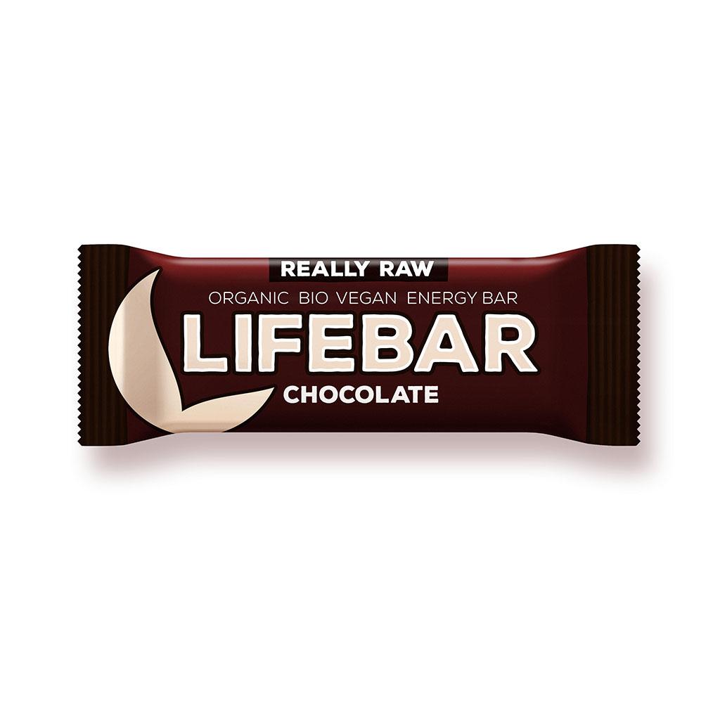Lifefood LIFEBAR BIO RAW čokoládová 47g