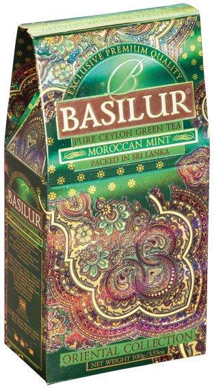 BASILUR Orient Moroccan Mint papír 100g