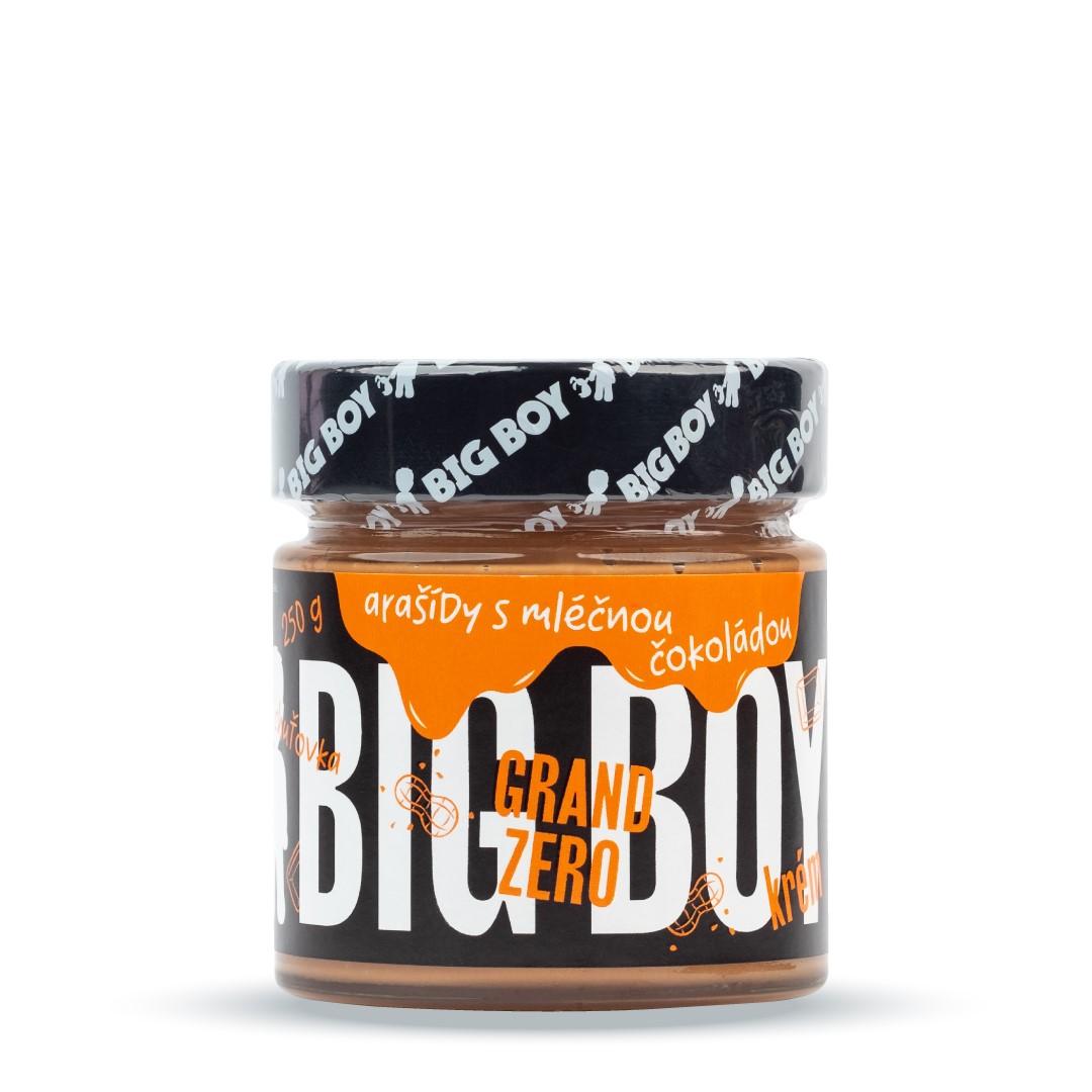 Big Boy Grand Zero krém s mléčnou čokoládou 250g