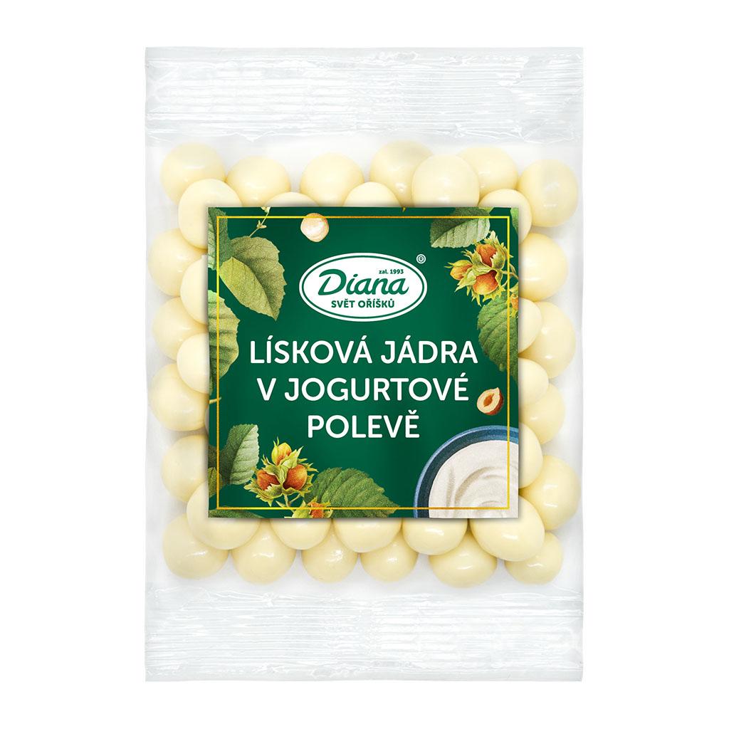 Diana Company Lísková jádra v jogurtové polevě 100g