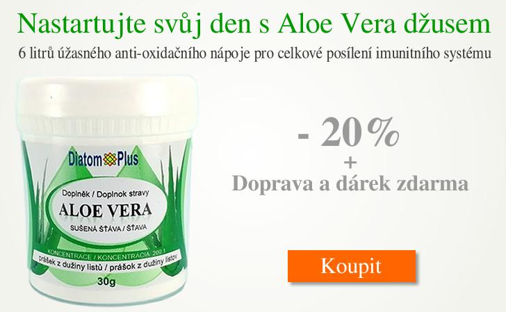 Aloe Vera Gel Džus DiatomPlus Akce