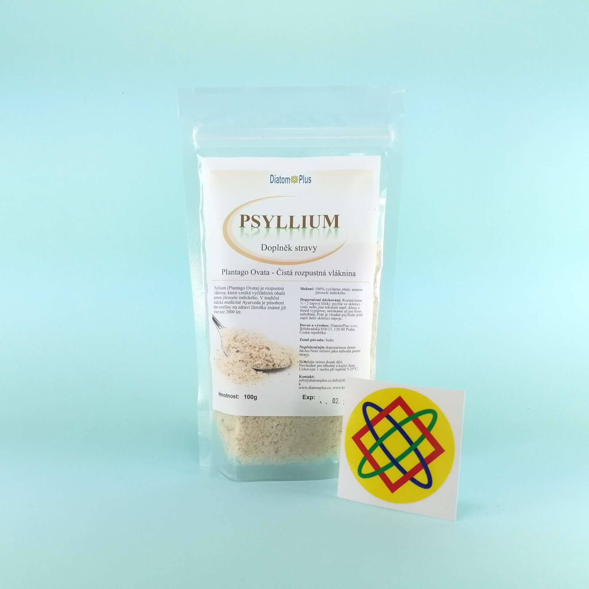 Psyllium-Jitrocel indický (Plantago Ovata)