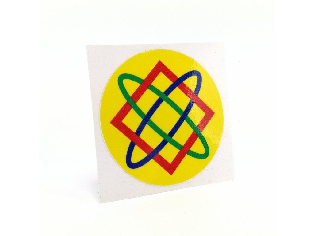 DiatomPlus Samolepka Hviezda Lady 60x60mm