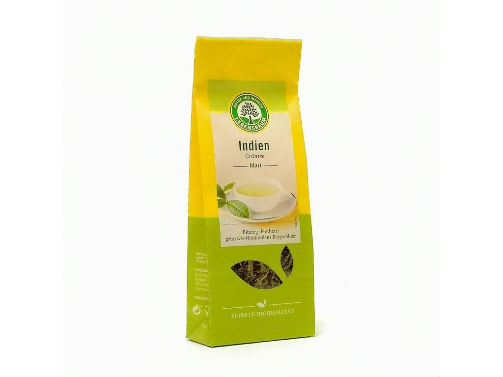 INdický sypaný zelený čaj Lebensbaum