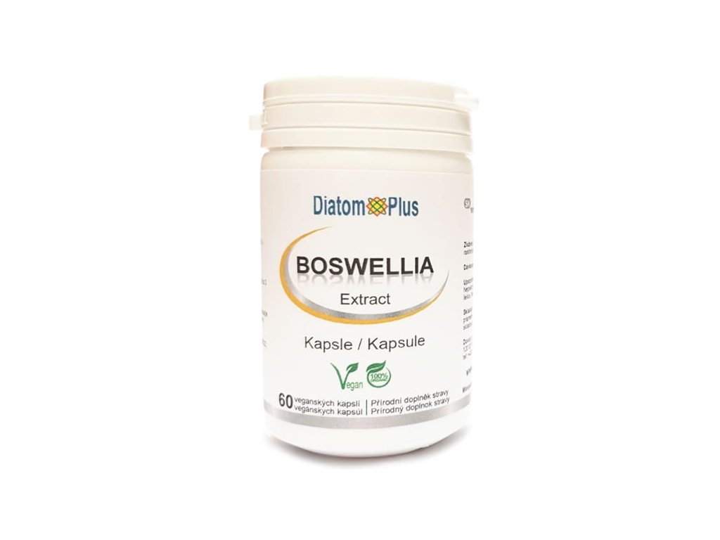 Boswellia serrata extrakt 60 kapsli