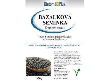 bazalkova seminka 350 gr CZ