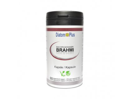 Brahmi Bacopa Monieri DiatomPlus 60 kapslí