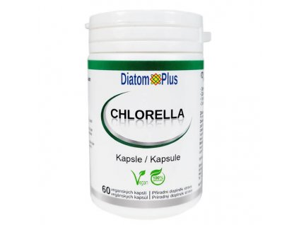 Chlorella DiatomPlus 60 kaps