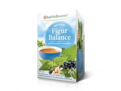 Čaj s kopřivou, mátou a vitamínem B12, 20x2gr
