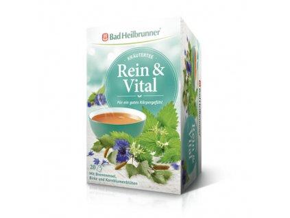 Čaj s pampeliškou, břízou, chrpou 20x2gr
