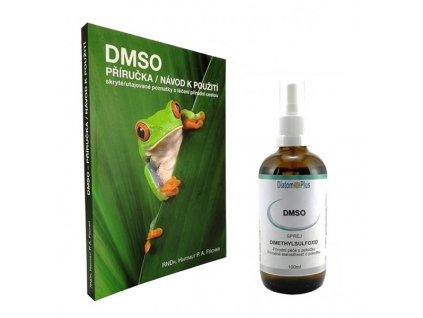 DMSO Příručka Návod k Použití + 100ml sprej DMSO