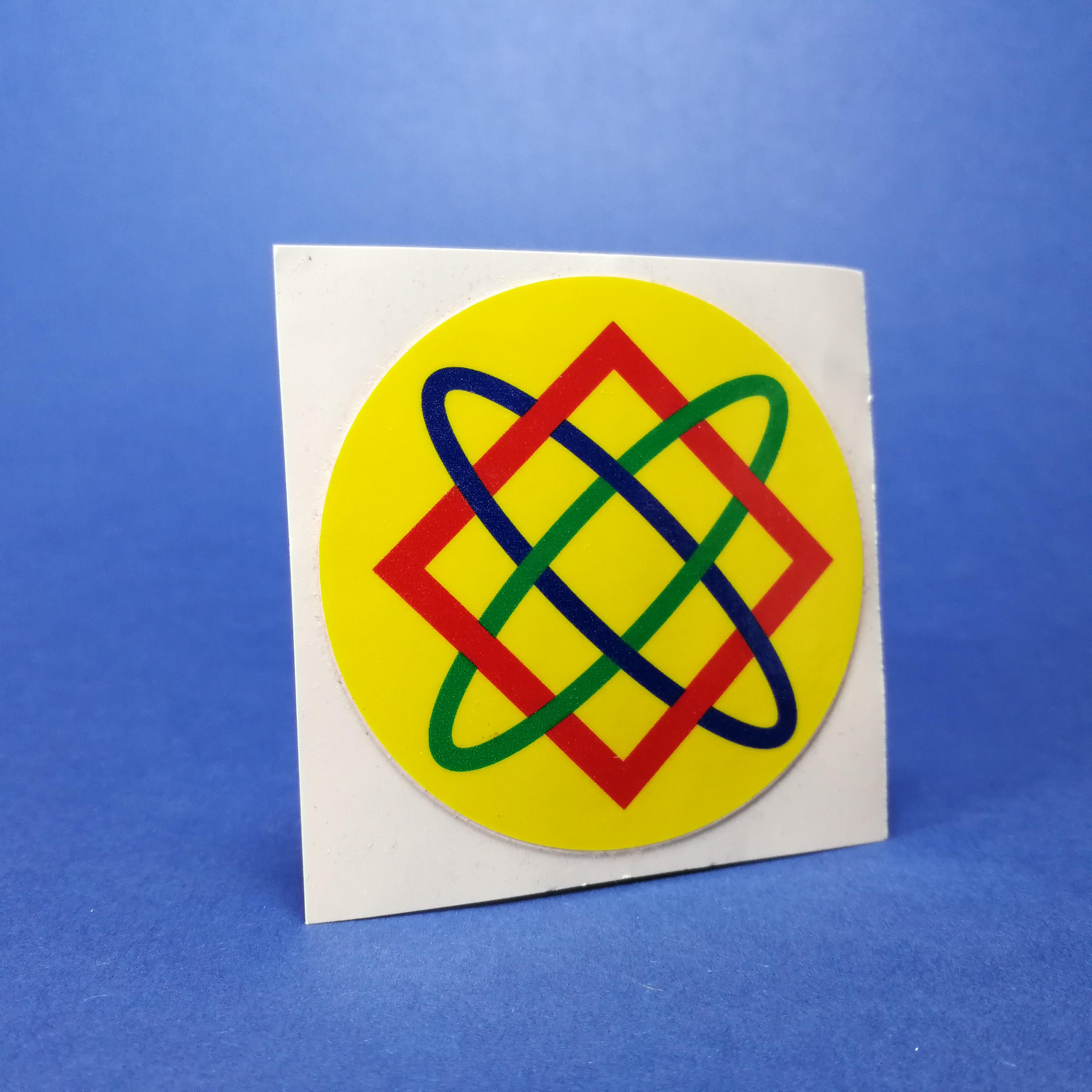 DiatomPlus Hvězda Lady, ochranný symbol, samolepka 60mm