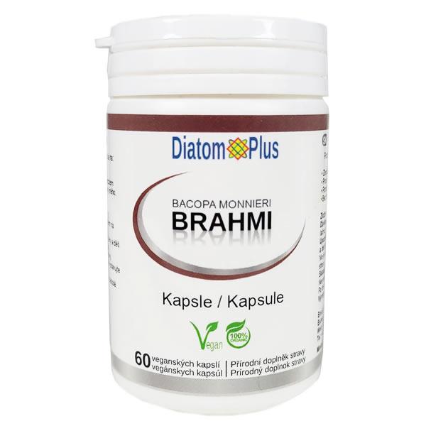 DiatomPlus Brahmi - Bacopa Monnieri, 60 vegan kapslí