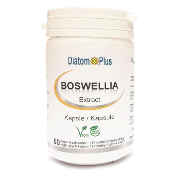 DiatomPlus Boswellia Serrata EXTRAKT 10:1, 60 veganských kapslí