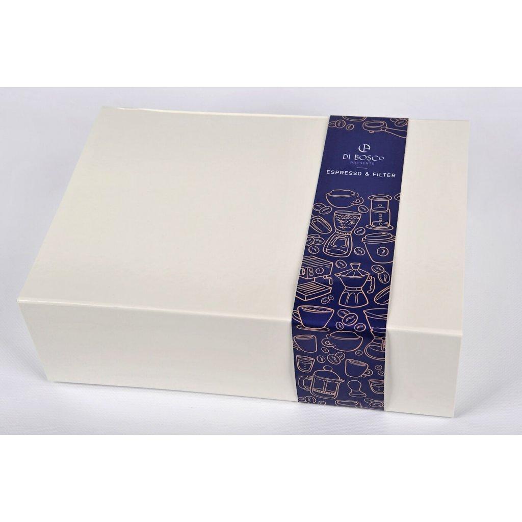 Vianočné darčekový box Exclusive - 2x500g kávy DI BOSCo podľa výberu