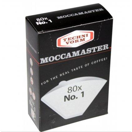 MOCCAMASTER Filtre No.1 80ks