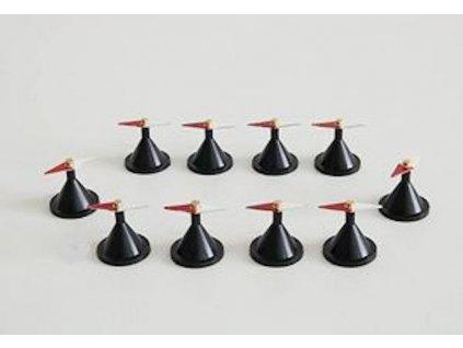0000204 miniaturni magneticke strelky na podstavcich 03 662 300