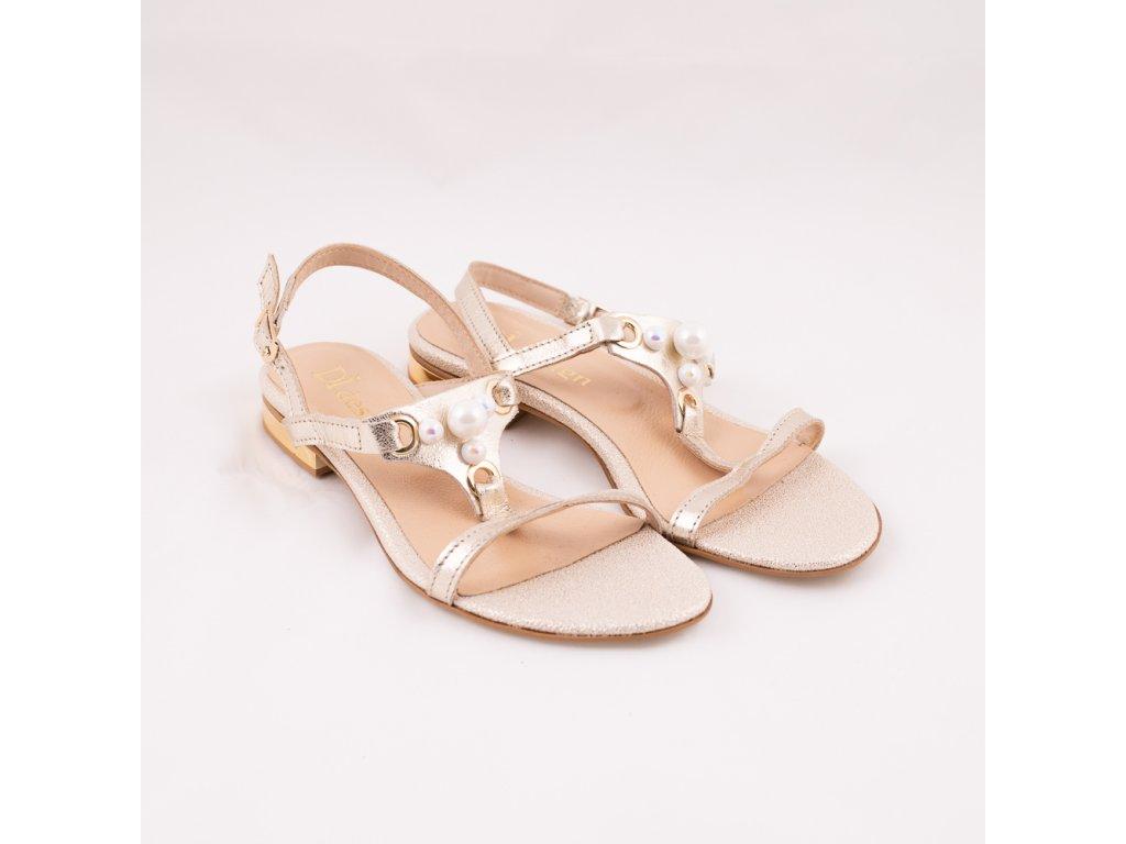 Sandály letní perla