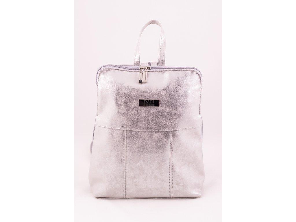 Batoh stříbrný 0222