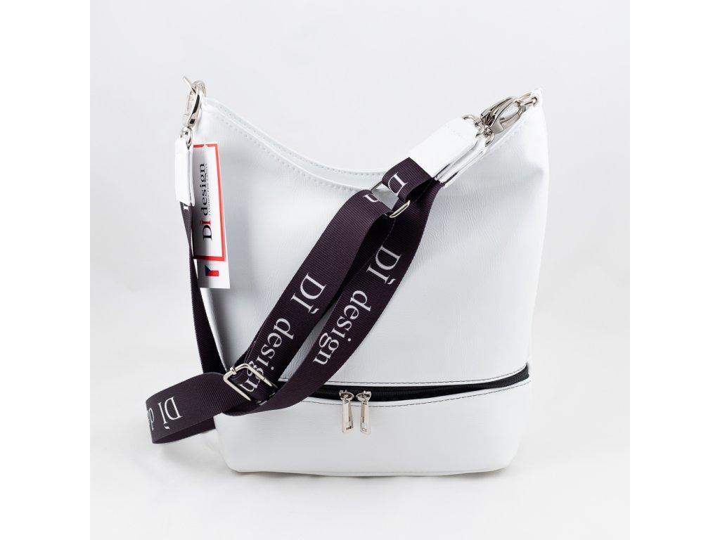 Dámská kabelka bílá 127N