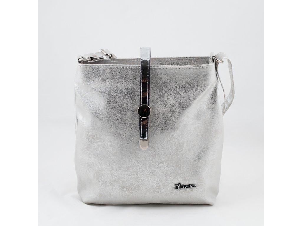 Crossbody stříbrná 890