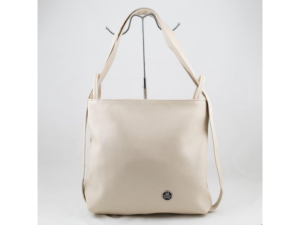Béžový kabelko-batoh 212