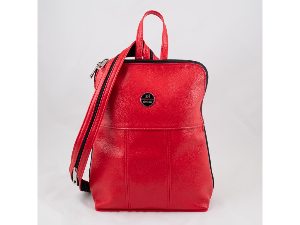 Batoh červený 0222
