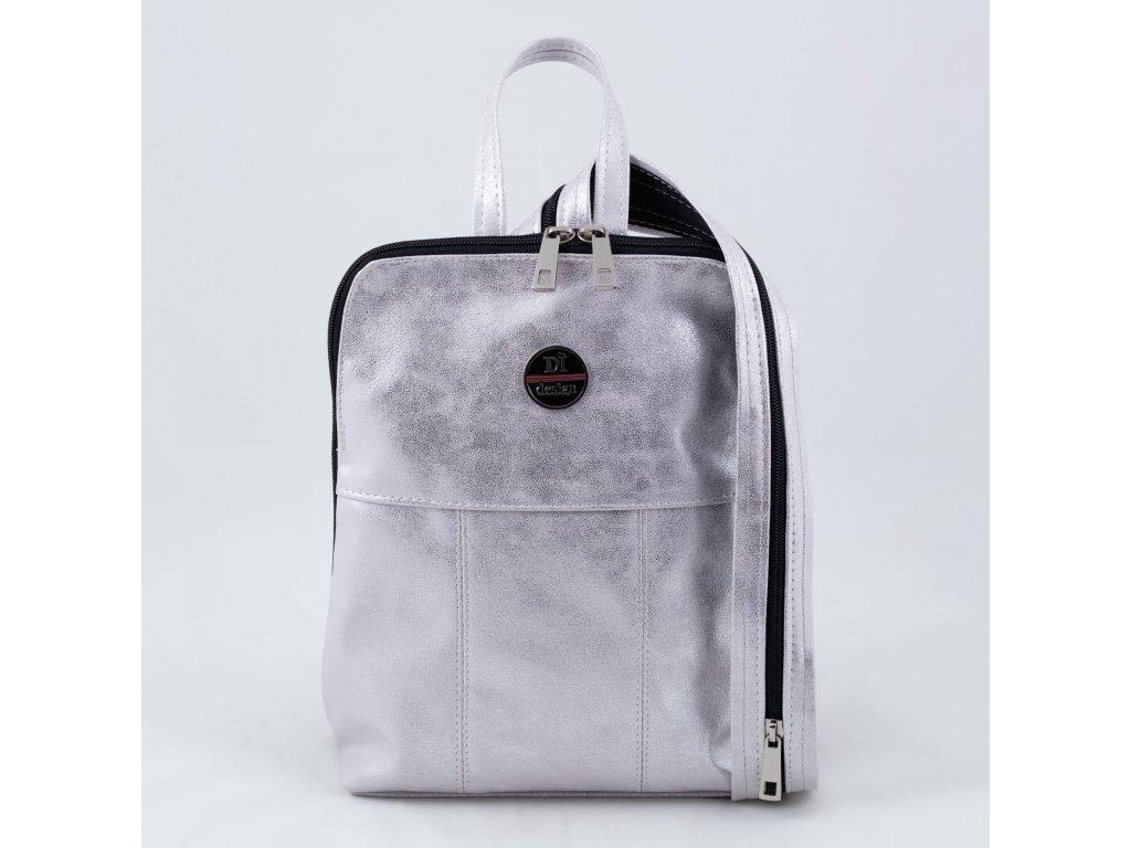 Batoh stříbrný 0202