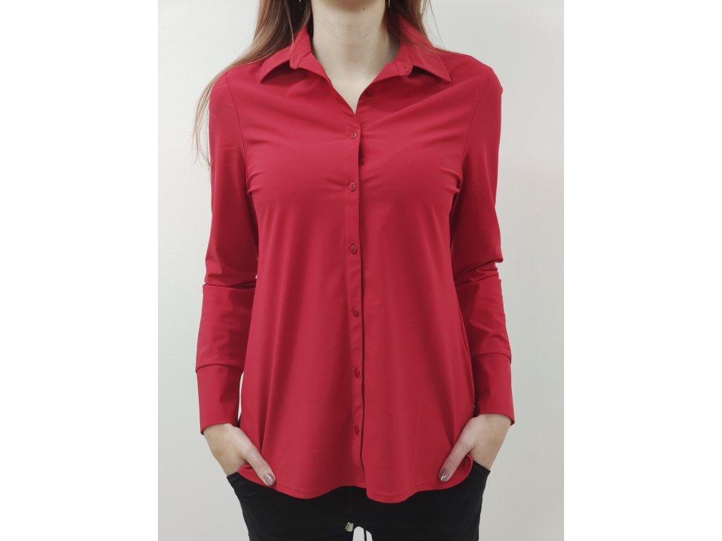 Košile ZOSO-červená