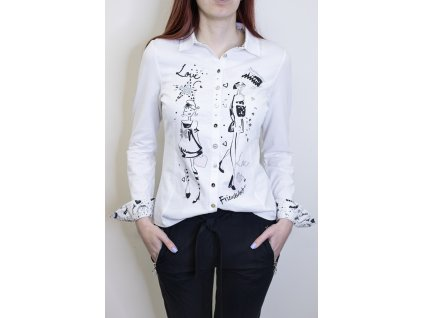 Košile love 21115