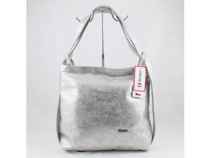 Kabelko - batoh stříbrný 212