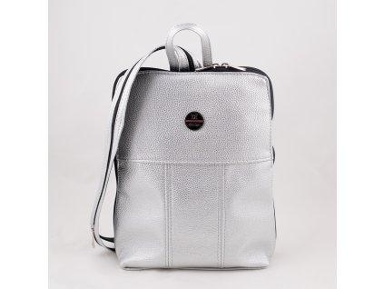 Stříbrný batoh 0222