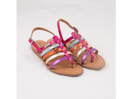 Barevné sandály 9055mix