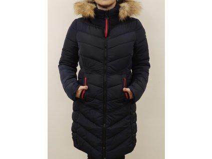 Kabát zimní modrý-364634