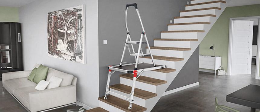 Pracovná plošina TP 1 pre schodíky a rebríky